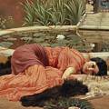 Dolce Far Niente by John William Godward
