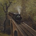 Dolgoch Viaduct by Richard Picton