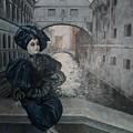 Doll In Venice by Natalia Shtainfeld-Borovkov