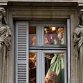 Doll Shop Window by Harry Spitz