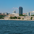 Dolmabahce Palace On The Bosphorus by Bob Phillips