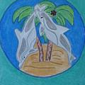 Dolphin Circle by Laura Jordan