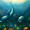 Dolphin Euphoria by Maribel McIntosh