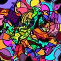 Dolphin Kaleidoscope by Rachel Christine Nowicki