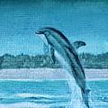 Dolphin Mural by Cynthia Guinn