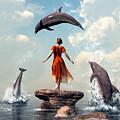 Dolphin Rock by Daniel Eskridge