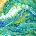 Dolphin Waves 2 by Carol Cavalaris