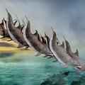 Dolphins by Betsy Knapp