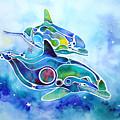 Dolphins Dance by Jo Lynch
