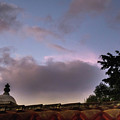 Dome And Clouds - Guatemala Iv by Totto Ponce