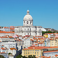 Dome Of Gothic Church In Lisbon by Darryl Brooks