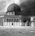 Dome Of The Rock - Jerusalem by Munir Alawi