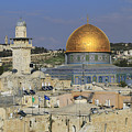 Dome Of The Rock Jerusalem Israel by Ivan Pendjakov