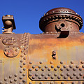 Dome Rust And Rivets Horizontal by James Brunker