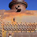 Dome Rust And Rivets Vertical by James Brunker