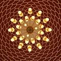 Domed Roof Mandala by Lene Pieters