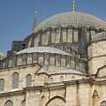 Domes Of Suleymaniye Mosque by Bob Phillips
