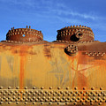 Domes Rust And Rivets by James Brunker