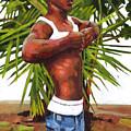 Dominican Beach by Douglas Simonson
