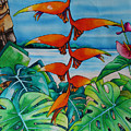 Dominican Heliconia by Helen Weston