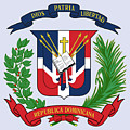 Dominican Republic Coat Of Arms by Movie Poster Prints