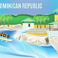 Dominican Republic Horizontal Scene by Karen Young