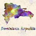 Dominican Republic In Watercolor by Pablo Romero