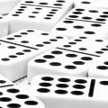 Dominoes I by Tom Mc Nemar