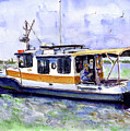 Don And Kathys Boat by John D Benson