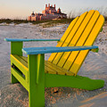 Don Cesar And Beach Chair by David Lee Thompson