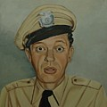 Don Knotts As Barney Fife by Tresa Crain
