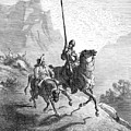 Don Quixote And Sancho by Granger
