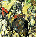 Don Quixote, View From The Back by Paul Cezanne