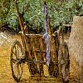 Donkey Cart by Syed Muhammad Munir ul Haq