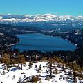Donner Lake Sierra Nevadas by Frank Wilson