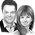 Donnie And Marie Osmond by Murphy Elliott
