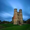 Donnington Castle At Dusk by Giovanni Giuliano