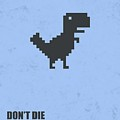 Don't Die Business Quotes Poster by Lab No 4