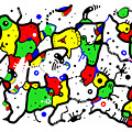 Doodle Abstract by Marv Vandehey
