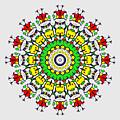 Doodle Mandala by Marv Vandehey