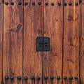 Door And Texture Of Bukchon Hanok Village by James BO Insogna