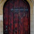 Door At Bath Abbey by Tony Grider