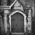 Door At St. Johns In Tralee Ireland by Teresa Mucha