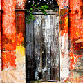 Door At The Red Corner By Darian Day by Mexicolors Art Photography