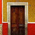 Door In Abstract by Mexicolors Art Photography