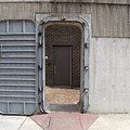 Door In The Richmond Floodwall by Ben Schumin