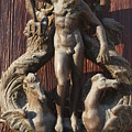 Door Knocker In Venice by Michael Henderson