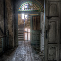 Door To Stairs by Nathan Wright