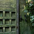 Door With Padlock by Bernard Jaubert