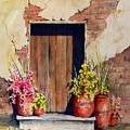 Door With Pots by Sam Sidders